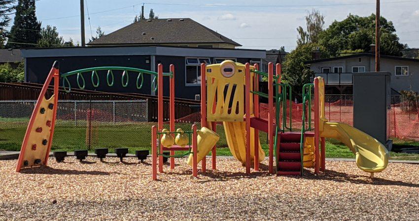 Primary Playground Campus View